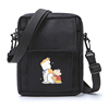 Kuso Crayon Shin Chan animation periphery Little bag solar system Chaopai Quadratic element One shoulder Inclined shoulder bag Mini Bag