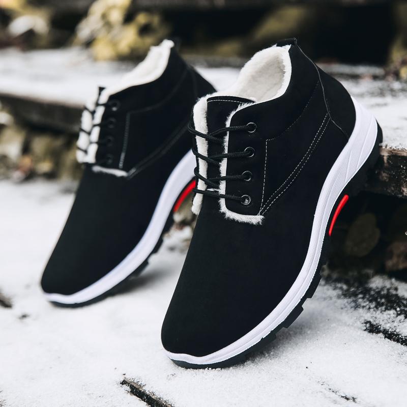 タオバオ仕入れ代行-ibuy99|男士鞋子|棉鞋男男士加厚新款雪地靴加绒冬季保暖二棉鞋高帮马丁靴休闲鞋子