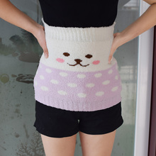 Thickened soft and continuous breast-feeding belt during pregnancy, soft sleeping in autumn and winter, cold proof and warm waist