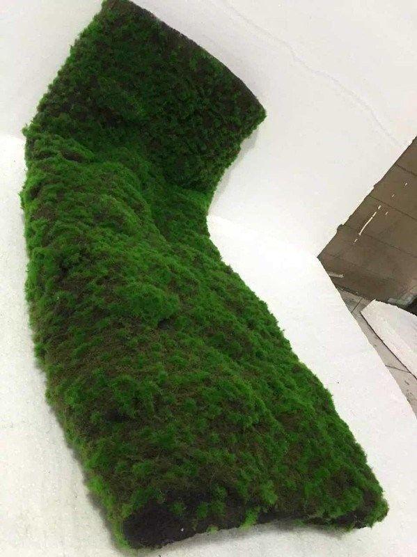 花园橱窗室外绿地毯草坪 室内装饰 橱窗 绿色幼儿园家用家庭绿化