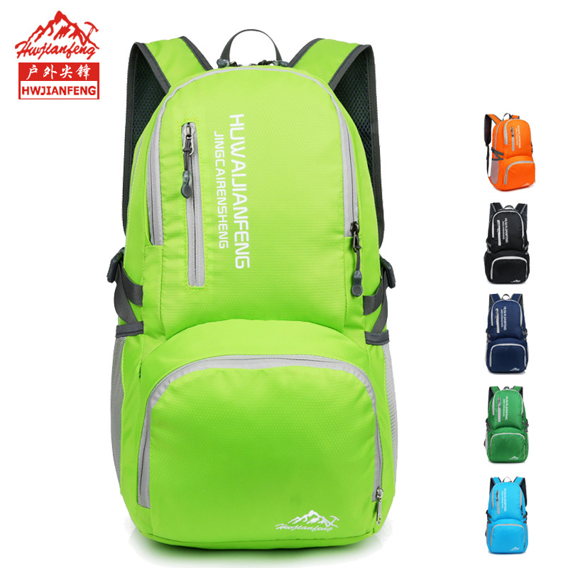 New outdoor mens and womens ultra light travel bag folding bag backpack waterproof portable q27