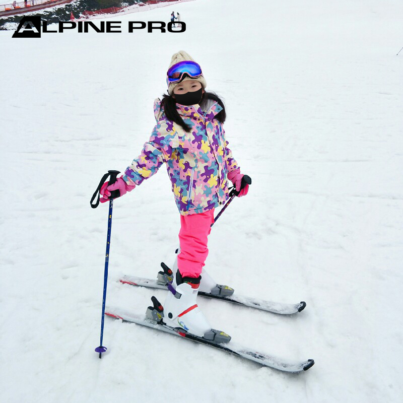 Alpini childrens Freestyle Ski Suit: warm, thickened, windproof and waterproof