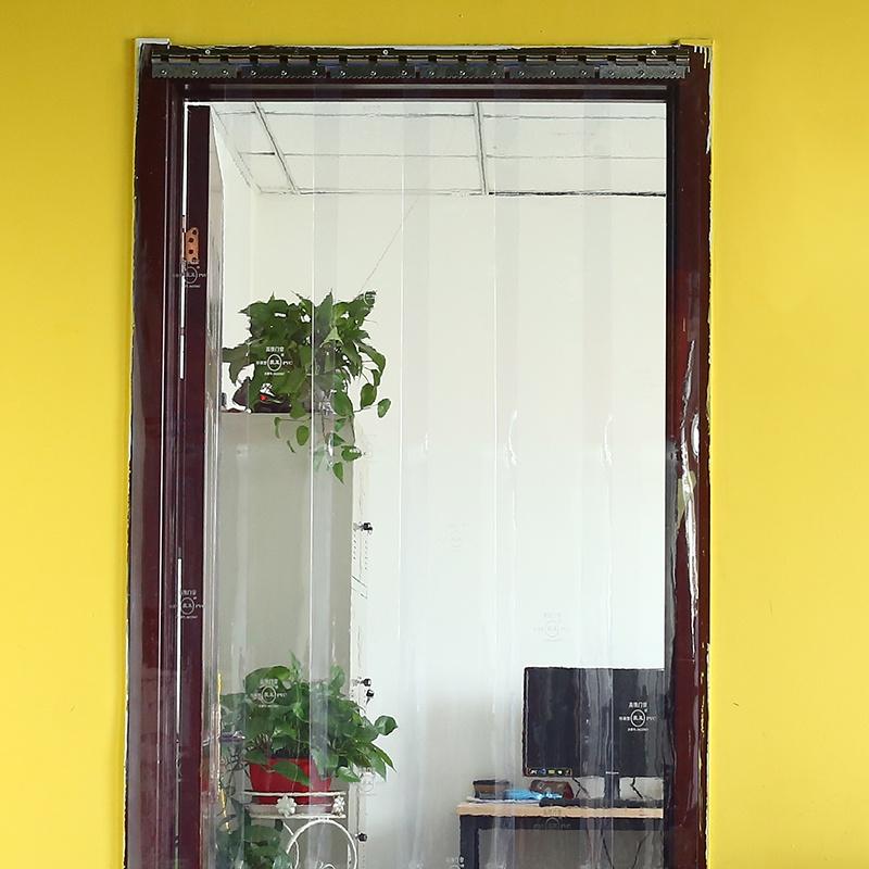 透明软门帘wPVC商用空调挡风保暖冬季家用隔断防冷气塑料帘子皮帘