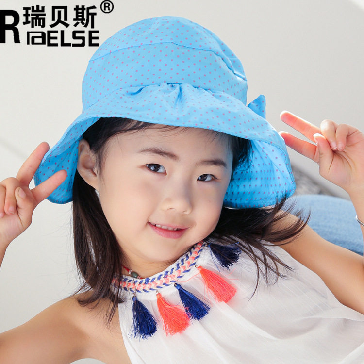 Childrens shoes, socks, hats, childrens sun visor sun protection hat 7-15 years old hat cute cute girls cloth hat