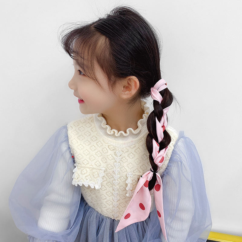Baby Butterfly Hair with Korean childrens hair accessories lovely princess go out headdress girl wash face hair band girl