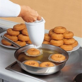 Portable Plastic Donut Maker Frying Dispenser Donut Easy Eas