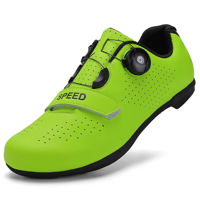 公路山地男女款休闲自行车无锁鞋硬底动感单车专用骑行鞋运动装备