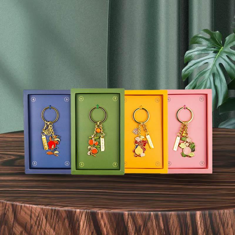 国家图书馆食来运转钥匙扣礼盒送礼品礼物送人开学生教师钥匙链 38元