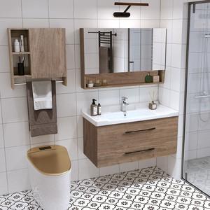 北欧智能组合轻奢现代简约洗手盆柜