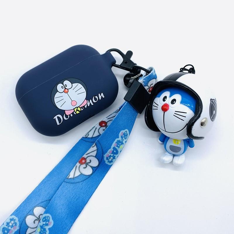 小叮当机器猫AirPods Pro 啦A梦液态硅胶保护套 AirPods3卡通可爱