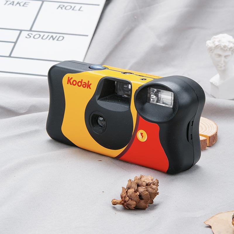 SNAP研究所 柯达ins复古胶卷傻瓜相机一次性闪光灯胶片机七夕礼物
