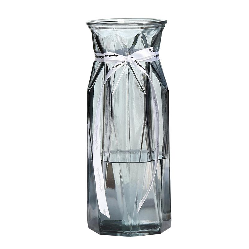 北欧简约创意透明水养玫瑰玻璃花瓶评价好不好