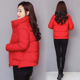 加厚保暖时尚 女短款 百搭新款 2021新款 棉袄韩版 羽绒棉衣面包服外套
