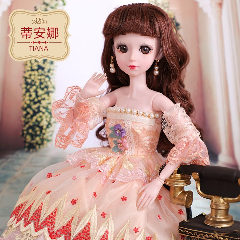 Birthday gift fairy drag tail that baby girl single ancient dress whole body lace evening dress long hair dance