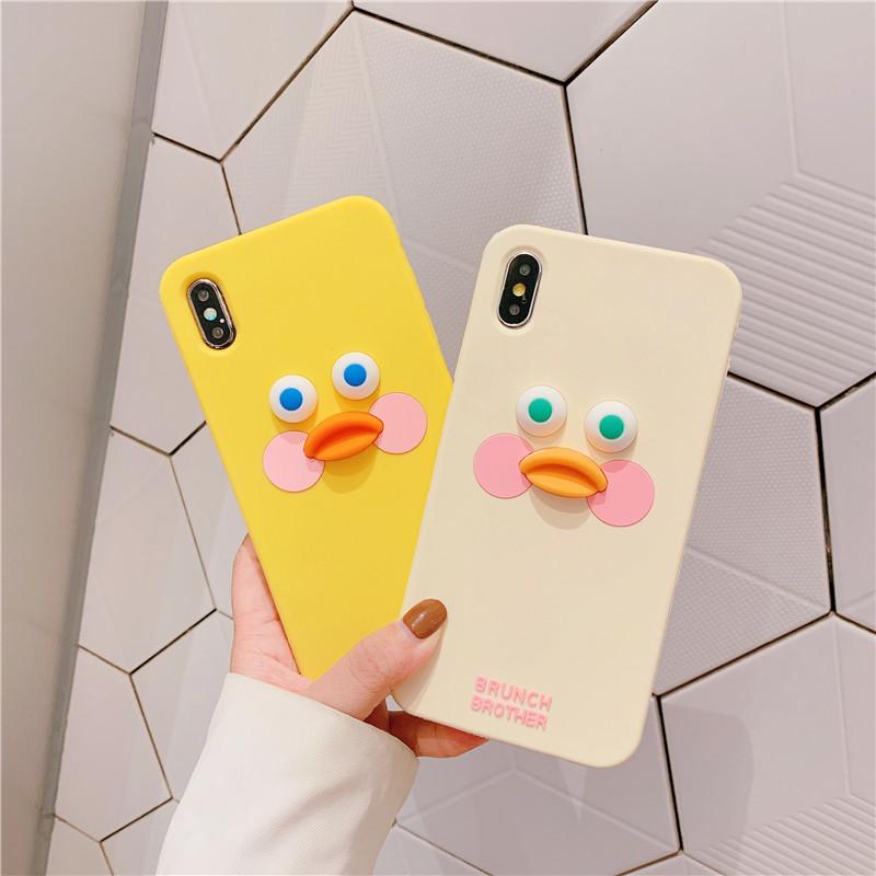 黄色鸭子oppor15 reno女oppo手机壳券后14.90元