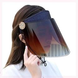 。可脸部调节发卡工太阳帽防遮挡遮阳帽防.,紫外线电焊跑步摩托车
