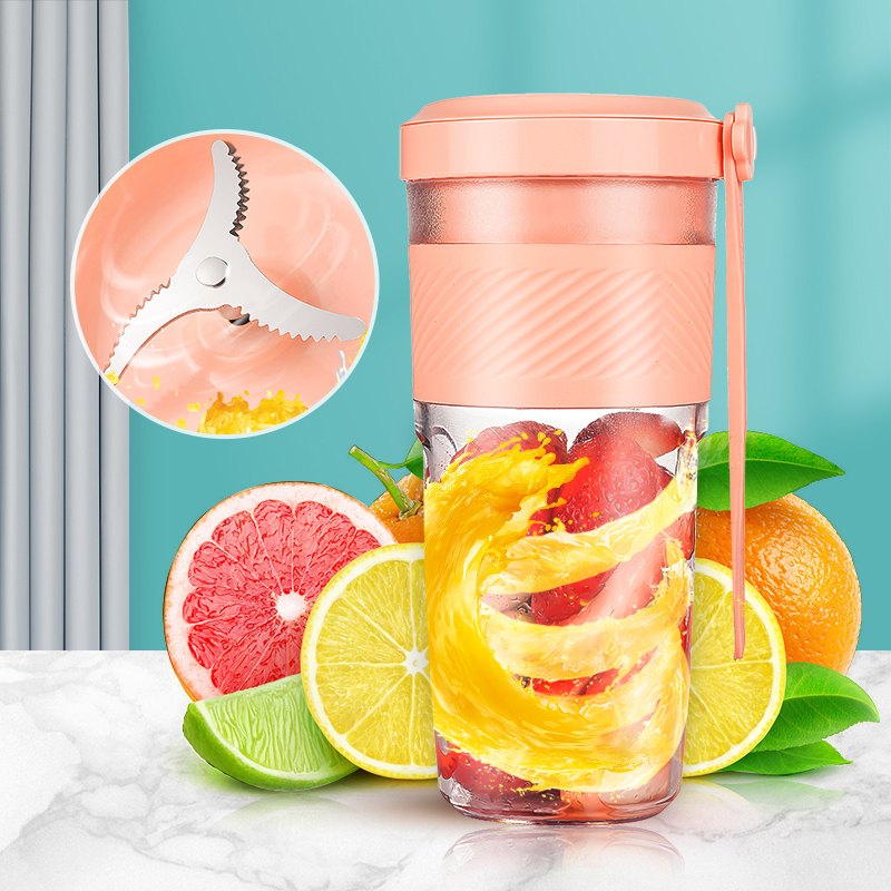 Portable Juicer multifunctional small electric fruit juice cup household cooking juice mixer students