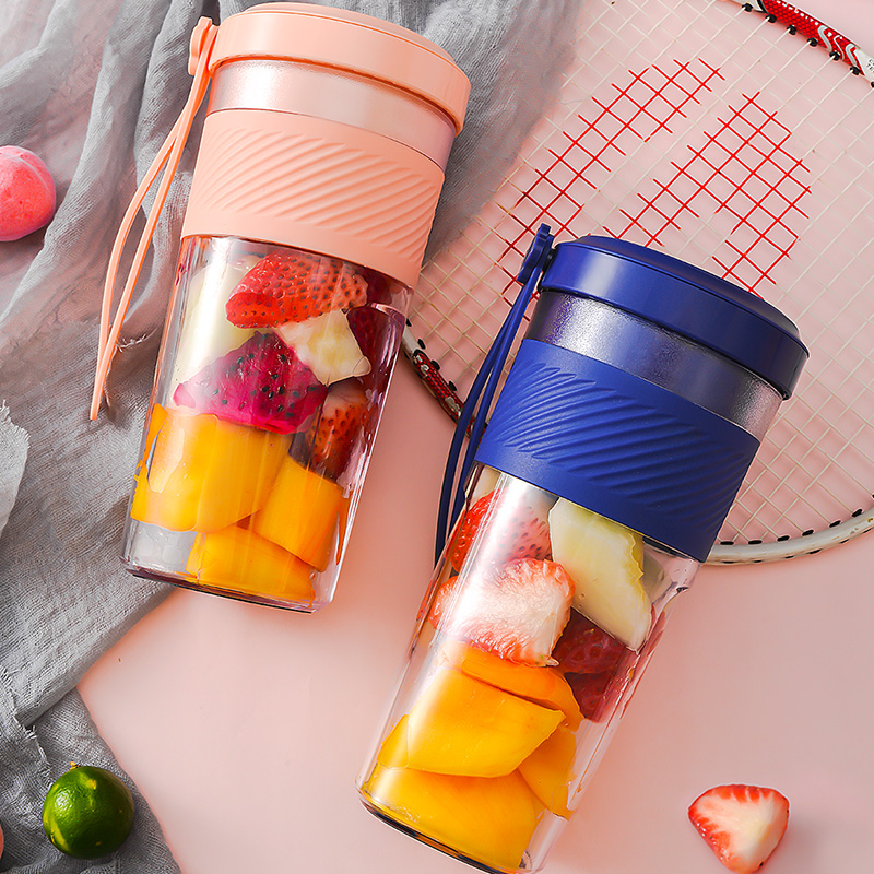 Portable fruit and vegetable juicing cup Juicer small large capacity USB charging sports portable mixing cup