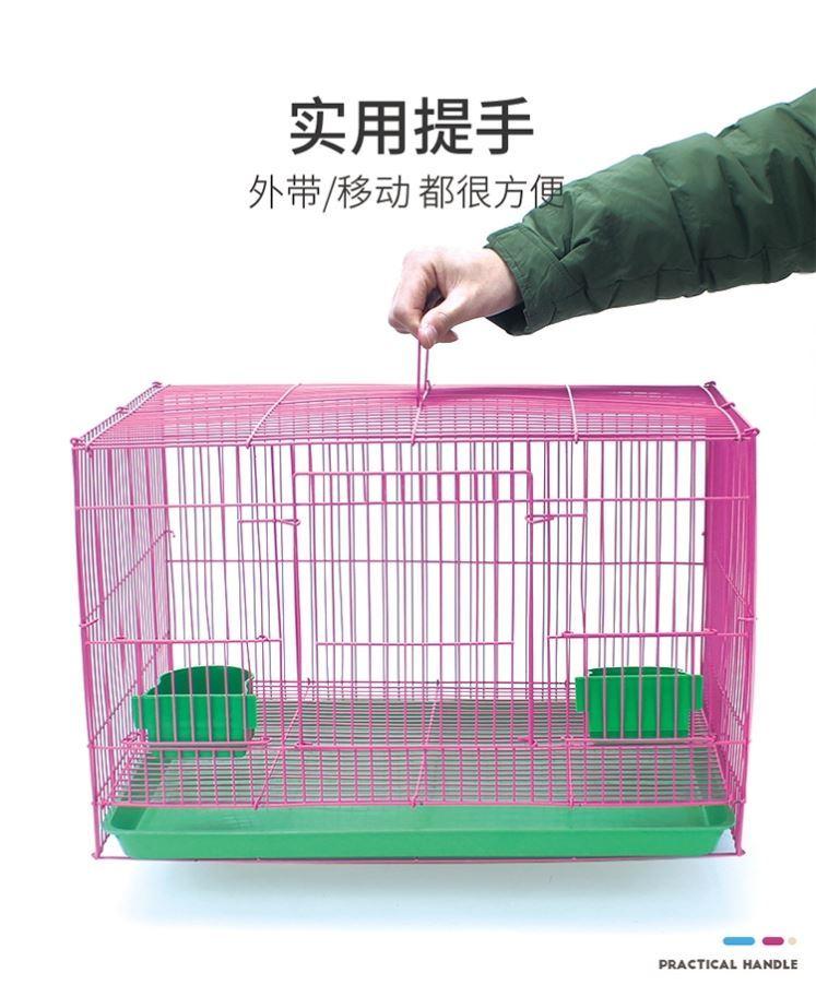 兔笼子家用室内特大号清仓宠物兔子窝带厕所自动清粪屋养殖子母笼