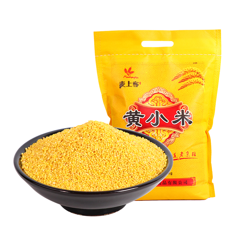 [maishangke] new Beige millet 5 kg, farmers own coarse cereals and cereals with babys stomach food