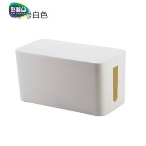 电脑线收纳束线盒桌面车载线束整理电源插线板收纳盒电线收纳线盒