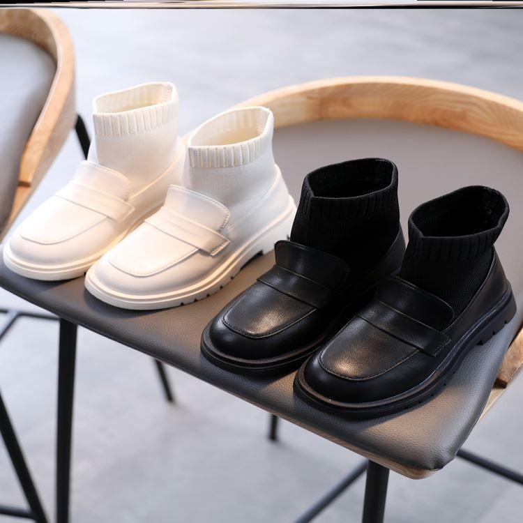 女童短靴子童鞋靴子短筒冬天马丁靴