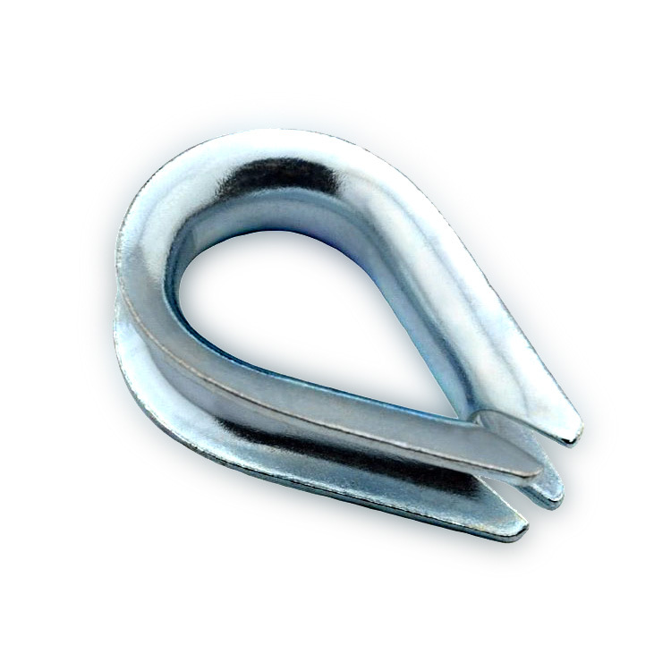 Steel wire rope ferrule chicken heart ring triangle ring boast galvanized triangle ring steel wire rope protection ring