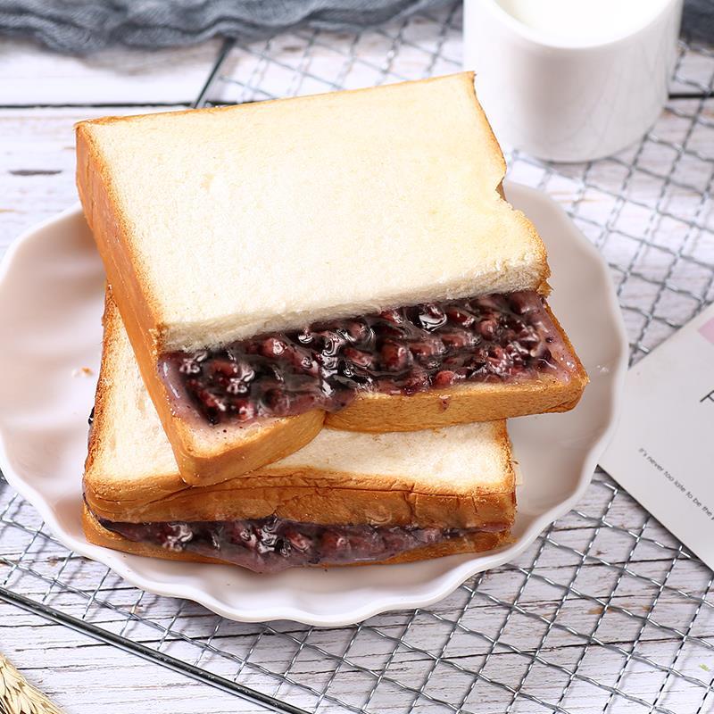 千丝紫米面包整箱奶酪黑米吐司全麦早餐蛋糕点心速食懒人小零食品