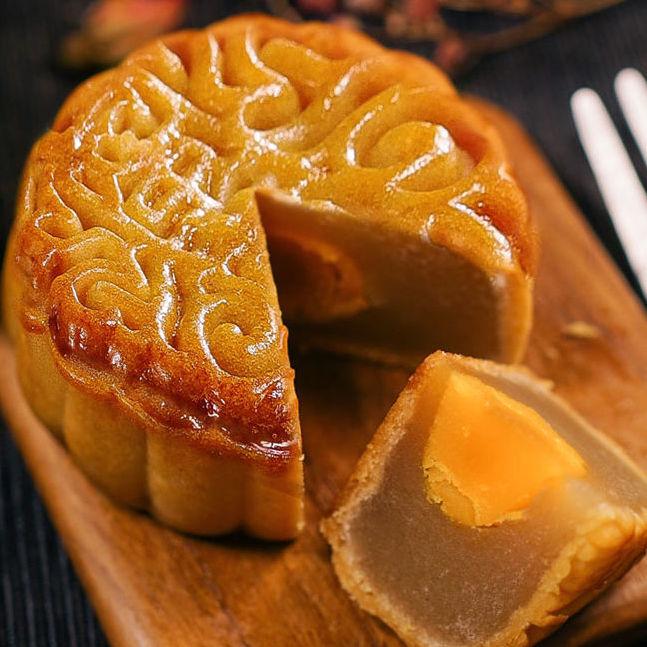 广式蛋黄月饼莲蓉豆沙小月饼糕点零食