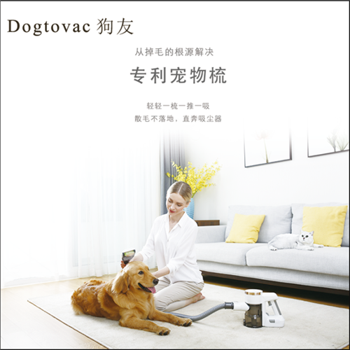 Dogtovac dog friend pet vacuum cleaner cordless charging handheld household vacuum cleaner for removing mites, dogs and cats fur