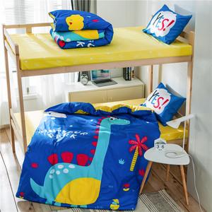 儿童床上四件套纯棉100卡通床单