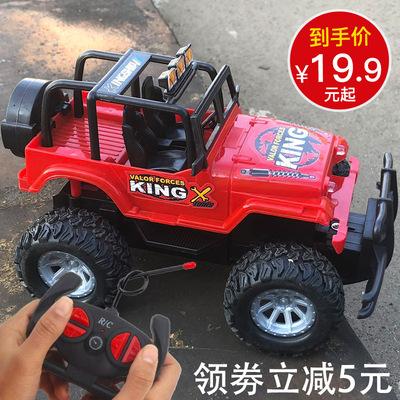 儿童遥控汽车小型越野车充电动无线漂移赛车小孩玩具车男孩3-6岁5