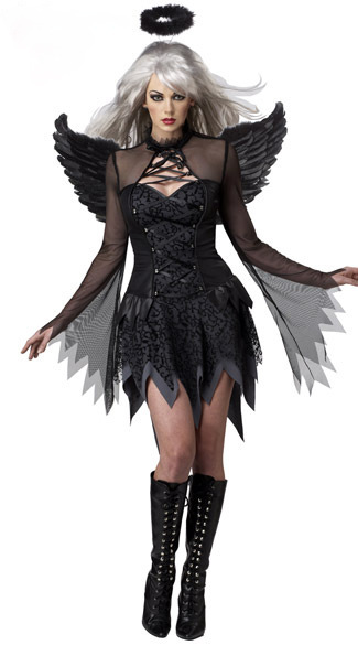 Cosplay role playing costume for Halloween with wings garland Angel sexy movie role playing Costume