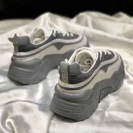 2020秋冬季新款鞋子女学生韩版百搭老爹鞋ins原宿厚底松糕运动鞋