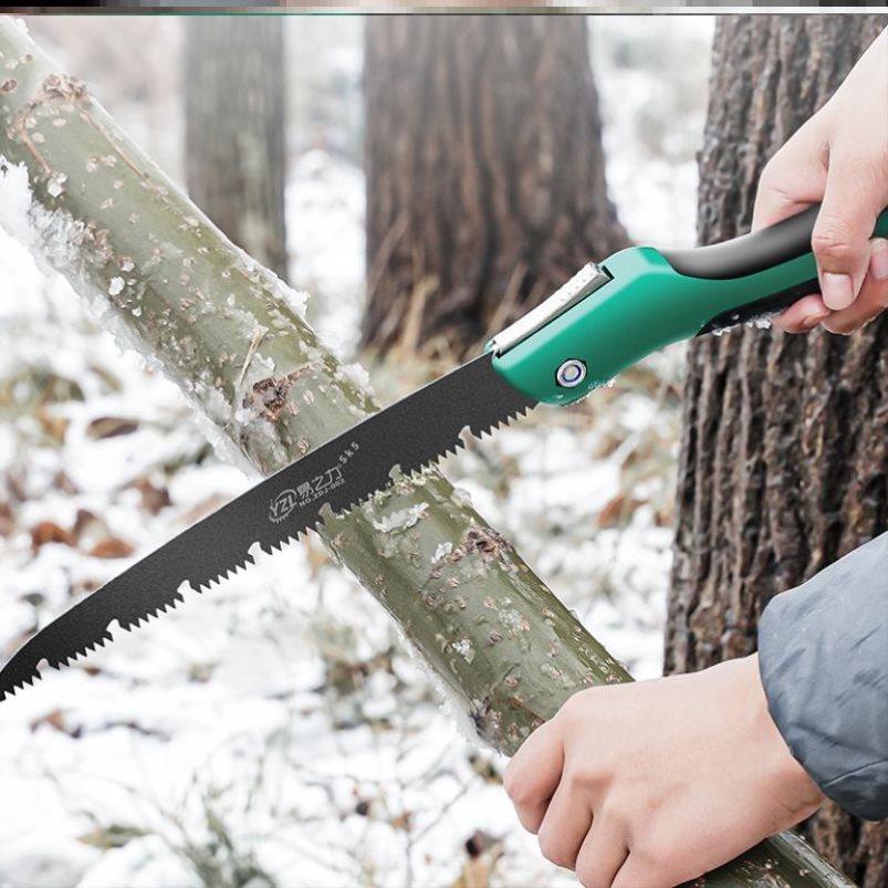 锯子手锯木工园林伐木锯家用手工小型锯树锯子工具手拉快速神器果