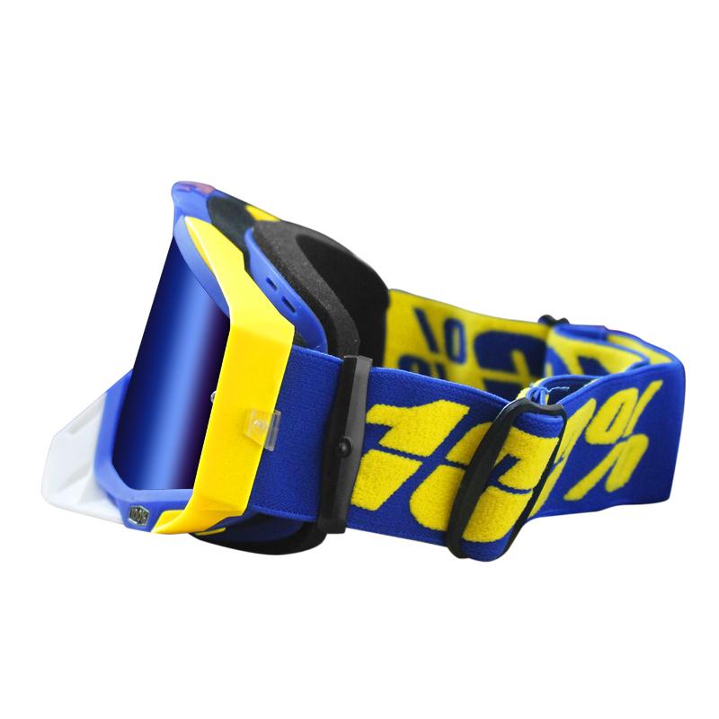 100%风镜摩托车骑行风镜户外运动护目镜越野头盔风镜防风滑雪眼镜