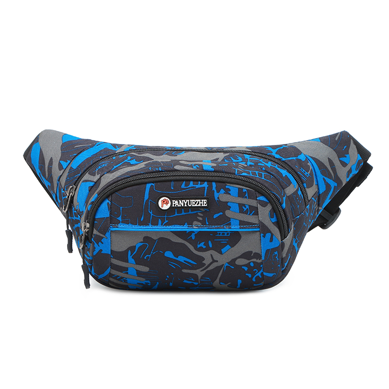 Wear camouflage Mobile Phone Wallet, cash collection bag, mobile travel, large capacity, waterproof, waist bag, men and womens multi-functional home transportation