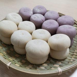 福锦记冰绿豆饼整箱散装糕点零食充饥夜宵手工传统老式紫薯饼食物