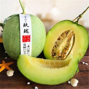 海南三亚当季新鲜孕妇水果玫珑密瓜香包邮哈密瓜品种网纹青皮绿肉