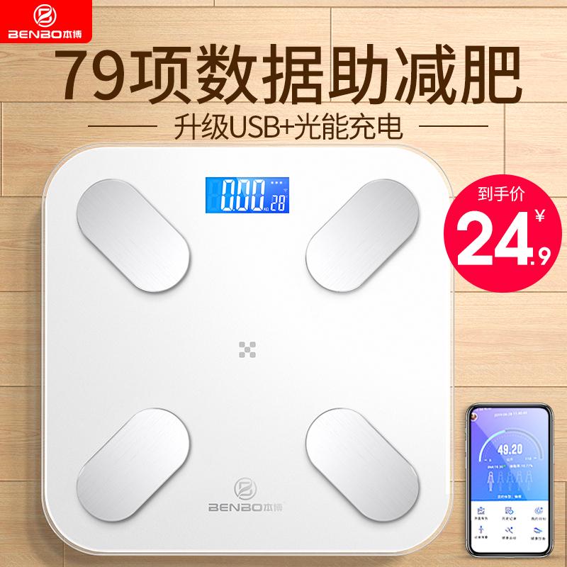 家用精准充电款人体智能测电子称价格/优惠_券后24.9元包邮