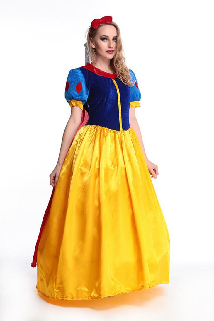 Halloween Disney Snow White Dress fairy tale Cosplay Cosplay cosplay costume stage costume