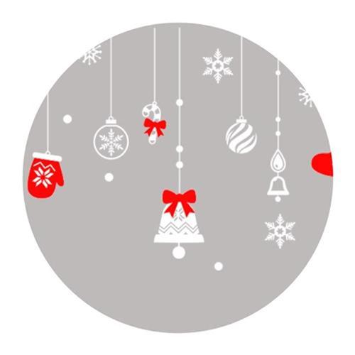 2021年クリスマスの透明な壁に雪のしずかなyy電気雪だるまがぶら下がってショーウインドーの店を飾ってステッカーの扉を飾ります。