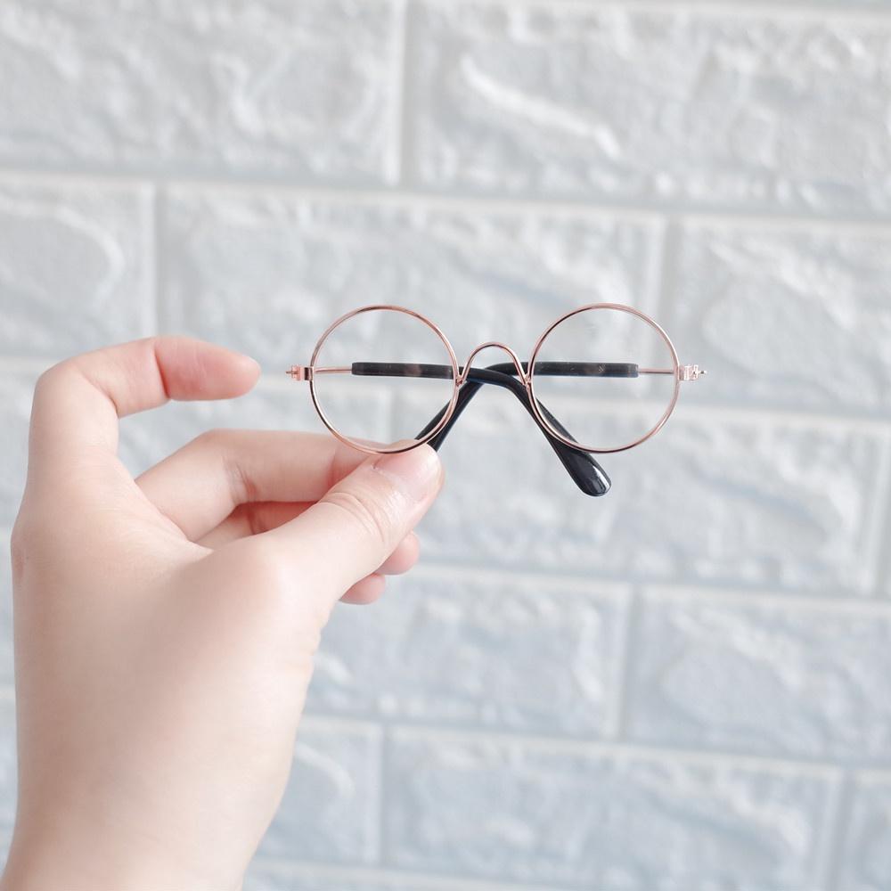 Dog props dog decorative pet Sunglasses round small glasses cat glasses master glasses small