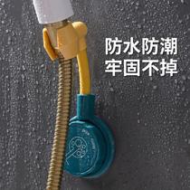 免打孔固定淋浴喷头挂座花洒吸盘支架淋雨头浴室淋浴器配件底座