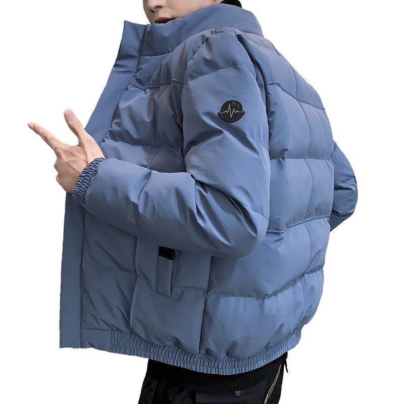 新款秋冬季男士羽绒棉服休闲服面包服