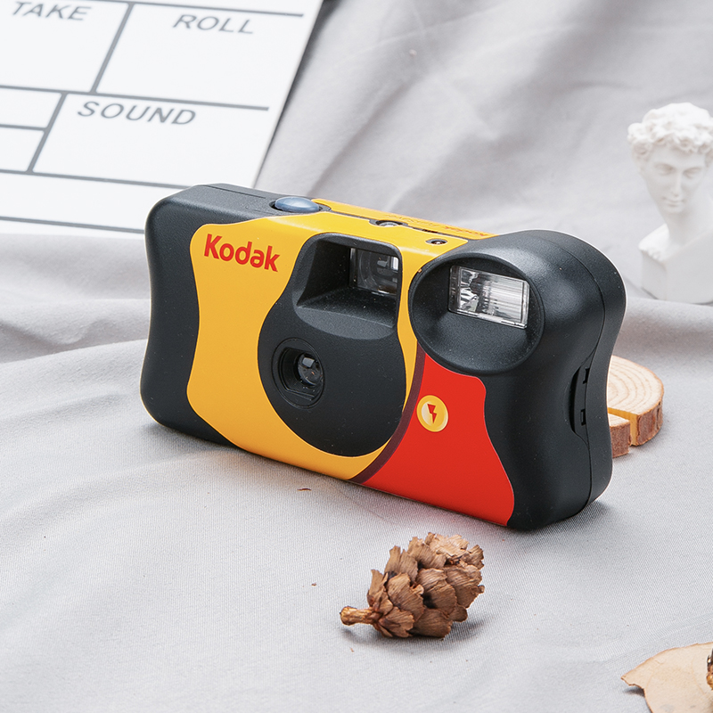 Snap Institute kodalins retro film point and shoot camera disposable flash film machine Qixi gift