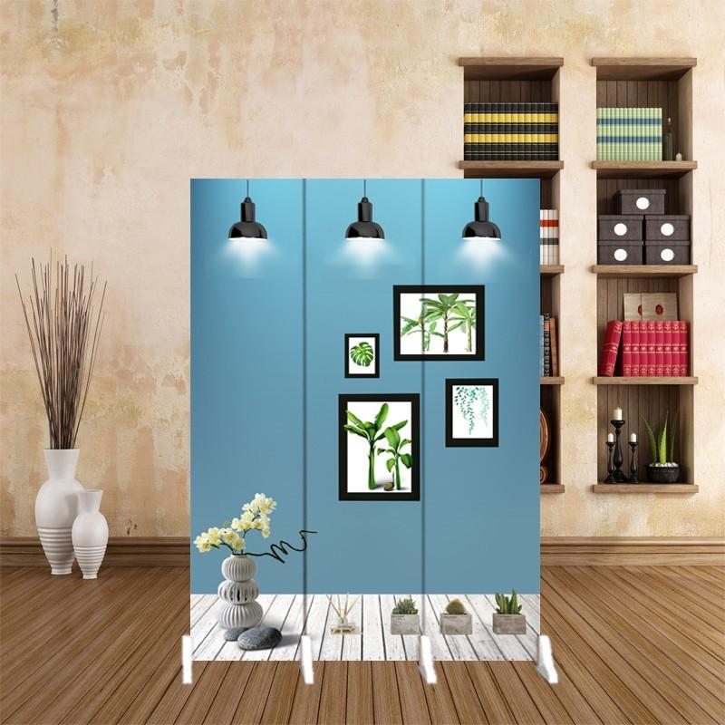 进门屏风隔断小户型现代简易办公卧室遮挡折叠家用移动客厅折屏