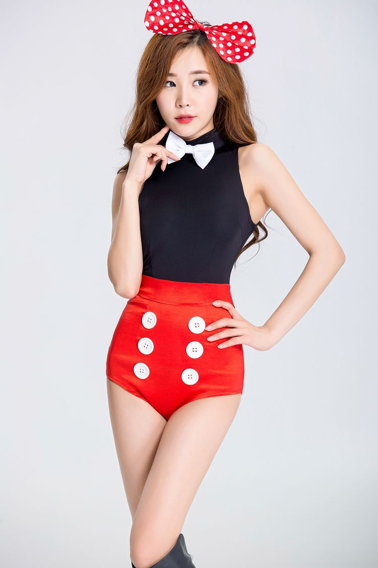 Halloween Mickey Mouse Costume Cosplay night club DS stage costume