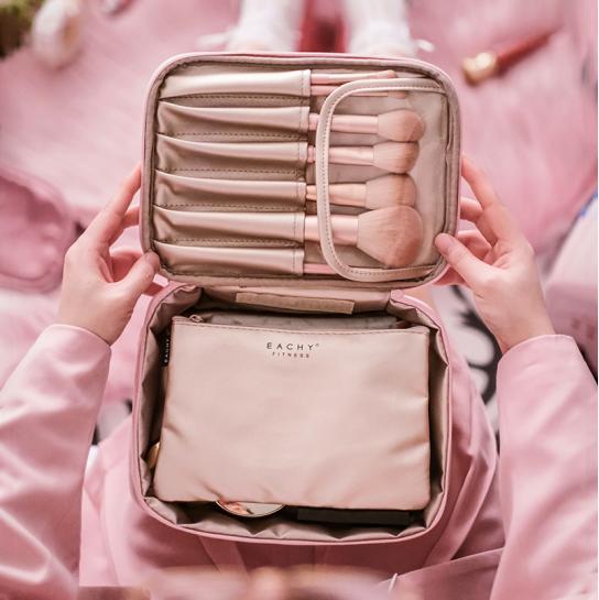 EACHY网红化妆包女便携旅行随身小号ins风超火洗漱品收纳袋大容量