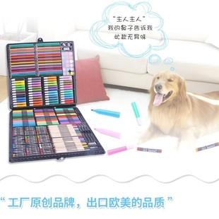 绘画套盒幼儿园优。套装画具水彩笔